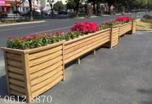 各种花箱护栏种植植物的选择介绍