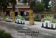"""合肥新设隔离花箱""""上岗"""" 融入环境成为城市风景线(图)"""