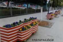 福州火车南站整治绿化 落客区将建百米茉莉长廊