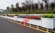 新美叶公司2019年上半年镀锌钢制花箱护栏案例