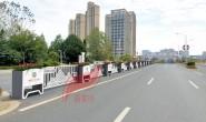 新美叶公司2021年部分新款道路花箱护栏展示